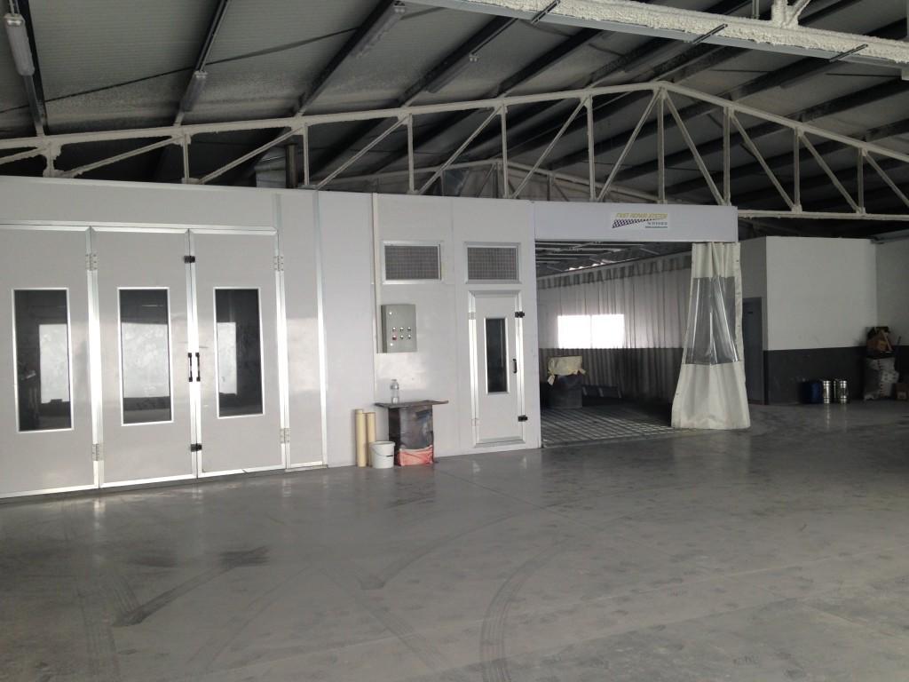 cabinas de pintura Reprixautomotive
