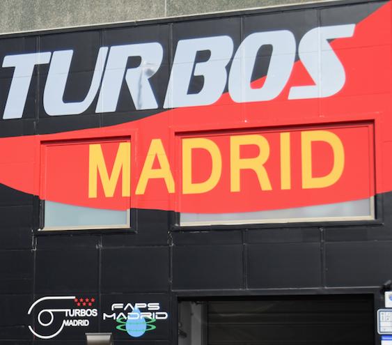 TURBOS MADRID FACHADA NUEVA